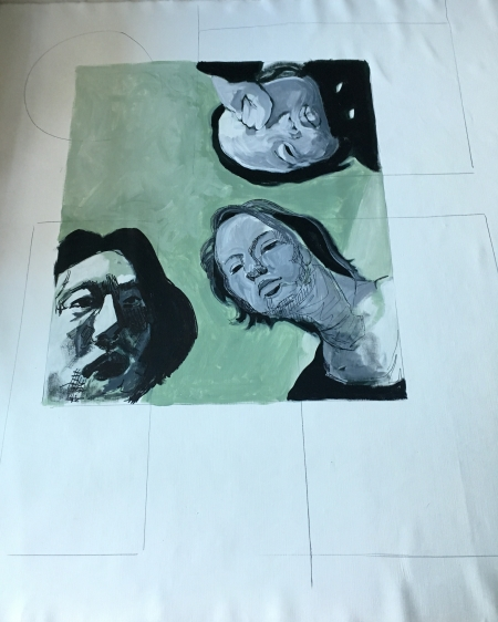 Mural in progress 2 (Daejeon, S. Korea)